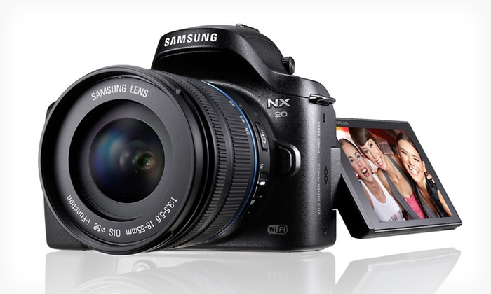 Samsung NX20 20.3-Megapixel Compact System Camera: $649.99 for a Samsung NX20 20.3-Megapixel Compact System Camera ($1,099.99 List Price). Free Shipping and Free Returns.