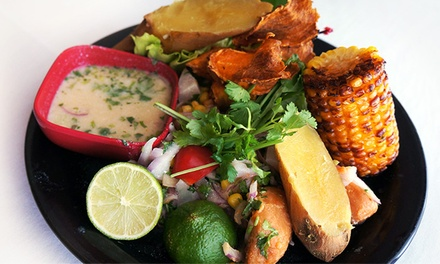 Peruvian Lunch Buffet for 2 or 4, Dinner For 2 or 4, or Catering at El Ceviche De Waldito (Up to 50% Off)