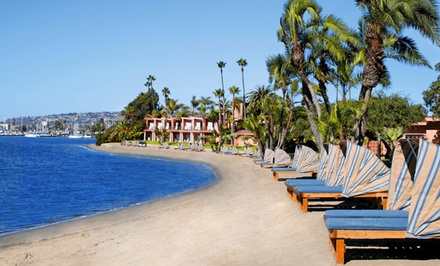 Stay at Bahia Resort Hotel in San Diego, CA; Dates into February available