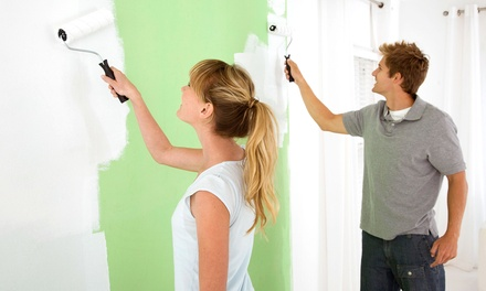 Interior Painting in One, Two, or Three Rooms from A Touch Above (Up to 63% Off)