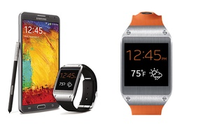 Samsung Galaxy Gear Smartwatch. Six Colors Available.