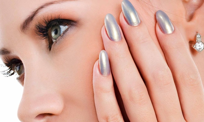 Nails by Darlene at Sharp Cuts - Rochester: Acrylic Overlay With Optional Two Fills or One Spa Manicure at Nails by Darlene at Sharp Cuts (Up to  65% Off)