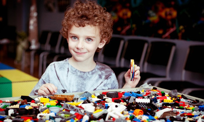 C&A Robot Factory - Libertyville: Two, Four, or Six Day Passes for Children's Lego Play Time at C&A Robot Factory (Up to 53% Off)