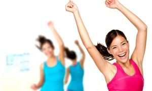 Dance Jam Fitness: 10 Zumba and Dance Jam Classes or One Month of Unlimited Classes at Dance Jam Fitness (Up to 64% Off)