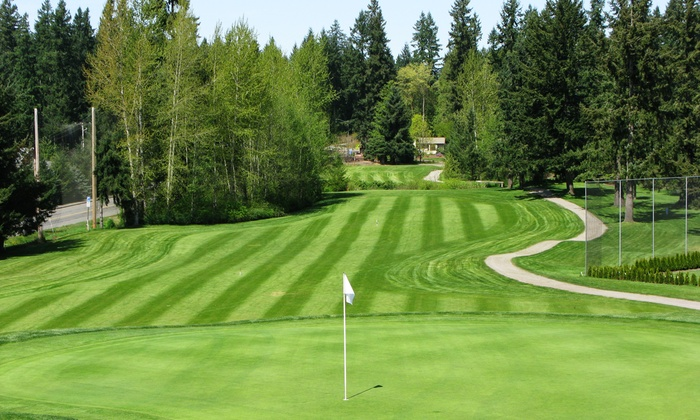 Lake Wilderness Golf Course - Maple Valley: 18-Hole Round of Golf, Cart Rental, and Hot Dog for One, Two, or Four at Lake Wilderness Golf Course (51% Off)