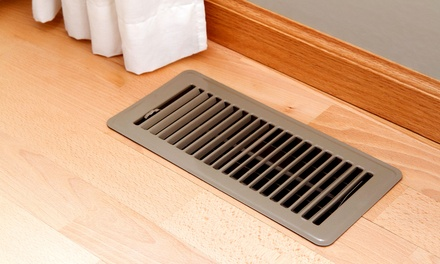 C$59 for Duct and Vent Cleaning for Up to 10 Vents from Razok's Manitoba Heating & Cooling (C$269 Value)