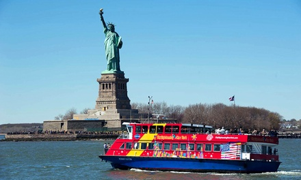 Admission to Wax Attraction, Harbor Cruise, and Empire State Building from CitySights NY (Up to $59 Off)