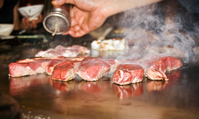 Kujaku Japanese Restaurant - Downtown: Hibachi and Japanese Cuisine for Dinner at Kujaku Japanese Restaurant (Up to 56% Off). Two Options Available.