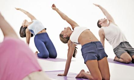 $50 for 10 Yoga Classes at Bikram Yoga Downtown ($110 Value)