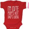 Infant Girls' Humor Bodysuits