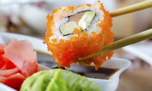 Kazoku Sushi: Sushi and Japanese Noodle and Rice Dishes at Kazoku Sushi (40% Off)