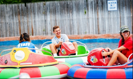 $12 for Four Bumper Boat Rides at Berlin Batting Cages ($20 Value)