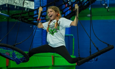 Two 90-Minute All-Access Passes or a Major Party Package for 10 Guests at Rebounderz (Up to 36% Off)