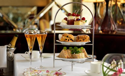 image for Afternoon Tea with Glass of Prosecco for Two or Four at Shrigley Hall Hotel (Up to 56% off)