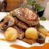 Menu romano di carne con 4 portate e vino