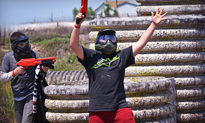 Extreme Paintball - Waterford: Paintball Package for One or Party Package for Up to 10 Kids from Extreme Paintball (Up to 58% Off)
