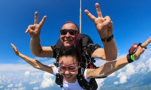 Tandem Skydive With Option For Hd Video And Photos At Chicagoland Skydiving Center (up To 24% Off)