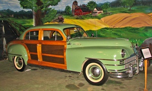Boyertown Museum of Historic Vehicles: Admission for Two or Four or Individual or Family Membership at Boyertown Museum of Historic Vehicles (Up to 38% Off )