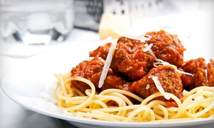 Custino's Restaurant & Bar - Oklahoma City: Italian Dinner Cuisine at Custino's Restaurant & Bar (Half Off). Two Options Available.