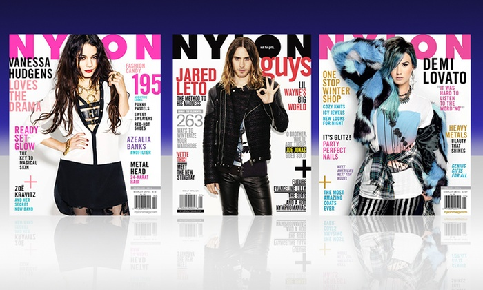 1-Year Subscription to Nylon Guys or Nylon: 1-Year Subscription to Nylon Guys or Nylon from Blue Dolphin Magazines Available from $5–$10.
