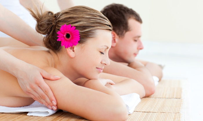 April Moon - Transit Village: One 90-Minute or One or Three 60-Minute Deep-Tissue Massages at April Moon (Up to 55% Off)