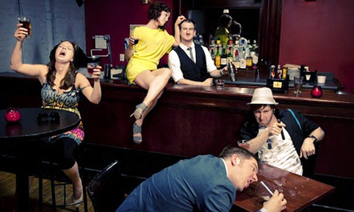 """Bye Bye Liver: The Chicago Drinking Play"" - Chicago: $20 for ""Bye Bye Liver: The Chicago Drinking Play"" for Two at The Pub Theater at Fizz Chicago ($40 Value)"