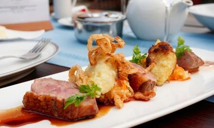 Menu avec entrée, plat et dessert pour 2 ou 4 personnes dès 45 € chez R7