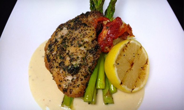 Sonoma'z Wine Bar & Grill - Foothill Green South: $20 for $40 Worth of American Cuisine and Drinks at Sonoma'z Wine Bar & Grill