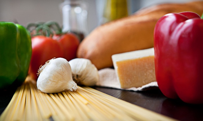 Mise En Place - Mise En Place Cooking School: Italian, Southern, or Superfoods Group Cooking Class for One at Mise En Place (Half Off)