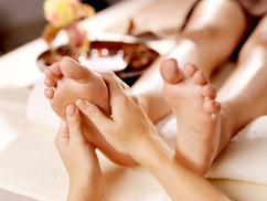 Garrett's Caring Hands: Massage or Lymphatic Drainage at Garrett's Caring Hands (Up to 56% Off). Four Options Available.