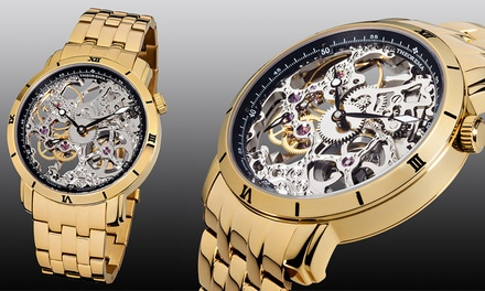 Mens Theorema Rio Skeleton Watch