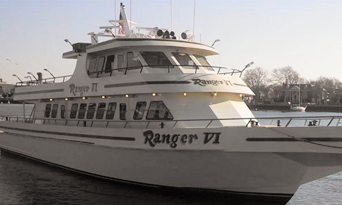 """Ranger VI - Ranger VI: Half-Day Morning or Afternoon Fishing Trip for Two or Four on the """"Ranger VI"""" (Up to 53% Off)"""