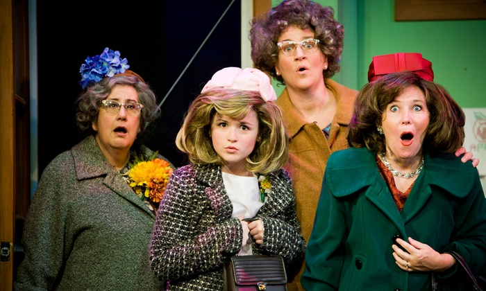 "Church Basement Ladies' ""A Mighty Fortress Is Our Basement"" - The Meyer Theatre: The Church Basement Ladies' ""A Mighty Fortress is Our Basement"" at Meyer Theatre on March 26 or 27 (Up to 49% Off)"
