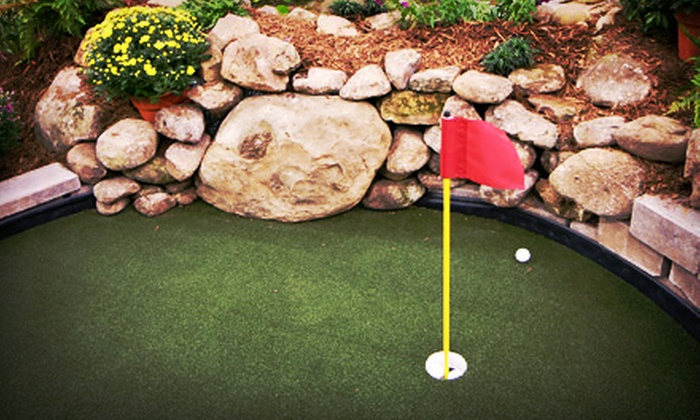 Village Green Miniature Golf - Farmingville: Four or Eight Groupons, Each Good for One Round of Mini Golf at Village Green Miniature Golf (Up to 50% Off)