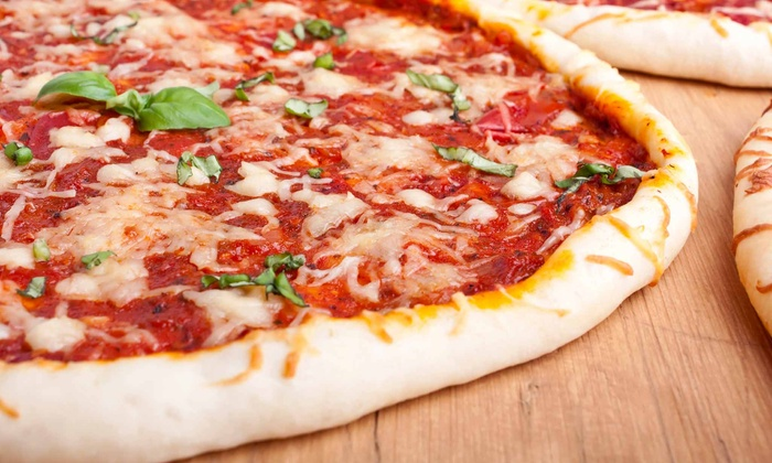 The Pizza Co. - Chapel Ridge: Three or Five Groupons, Each Good for One 12-Inch Pizzas at The Pizza Co. (Up to 52% Off)