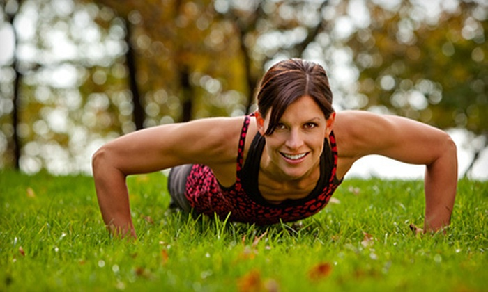 VIP Training and Fitness - Multiple Locations: 4-, 8-, or 12-Week Boot Camp at VIP Training and Fitness (Up to 92% Off)