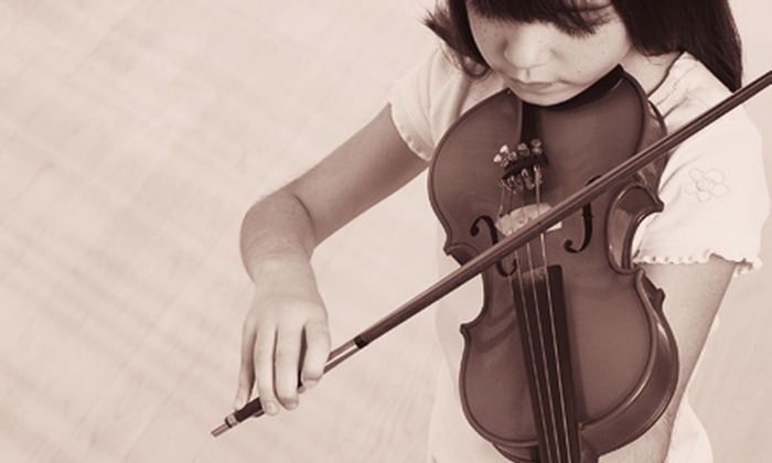 Inspire Music Center - Parkside,Westlake: Four Half-Hour Beginner Music Classes for One, Four One-Hour Classes for One or Two, or Four Advanced Classes for One at Inspire Music Center (Up to 67% Off)