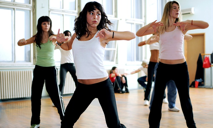 Cardio-Go - Multiple Locations: 5 or 10 Ginga and Zumba Classes or Cardio-Go (Up to 86% Off)