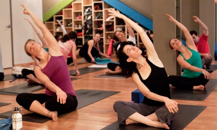$39 for 10 Classes at Yogis Anonymous ($140 Value)