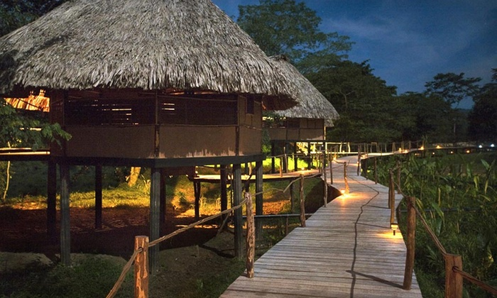 Cotton Tree Lodge - Punta Gorda, Belize: 4- or 5-Night Stay for Two with Daily Breakfast, Jungle Tour, and Round-Trip Transfers at Cotton Tree Lodge in Belize