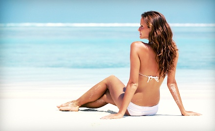 12 laser hair-removal treatments, specifically six on each of two small areas