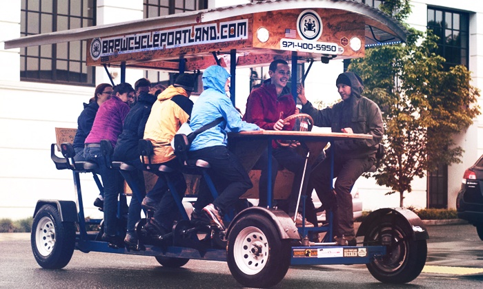 BrewCycle: Two-Hour Pub Crawl for Up to 15, Valid Friday–Saturday or Sunday–Thursday on the BrewCycle (Up to 33% Off)