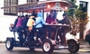 33% Off Pub Crawl on the BrewCycle