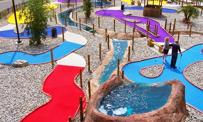 Paradise Park - Novi: Fun Pack for Two or Four or Date-Night Package, Valid Monday–Friday, at Paradise Park (Up to 33% Off)