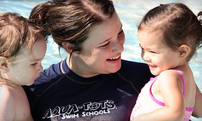Aqua-Tots Swim School - Northwest: $29 for Four Children's Swim Classes at Aqua-Tots Swim School ($74 Value)