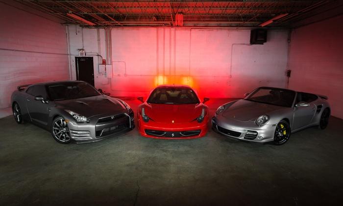 Adventure Supercars - Pleasant Hill: $99 for a Lamborghini or Ferrari Supercar Driving Experience on March 27–30 from Adventure Supercars ($199 Value)