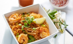 Thai City Restaurant: Thai Food at Thai City Restaurant (Up to 36% Off). Two Options Available.