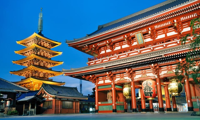 Tour of Japan with Airfare from Affordable Asia Tours - Tokyo, Kyoto, Mt. Fuji & Osaka: 8-Day Tour of Japan with Airfare and Accommodations from Affordable Asia Tours. Price/Person Based on Double Occupancy.