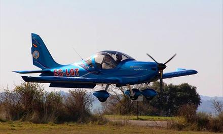 Bautismo de vuelo en avioneta para una o dos personas desde 54,95 €