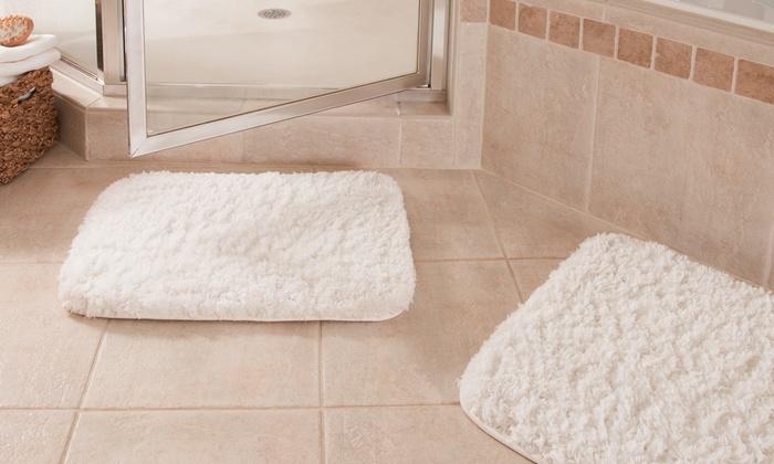 Spa Couture Memory Foam Rug Set | Groupon Goods